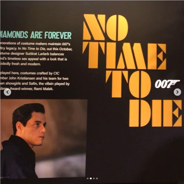 """Screenshot 2021-08-18 at 21-36-08 Mike Drake auf Instagram """"Costumes from the latest James Bond film No Time To Die on disp[...].png"""