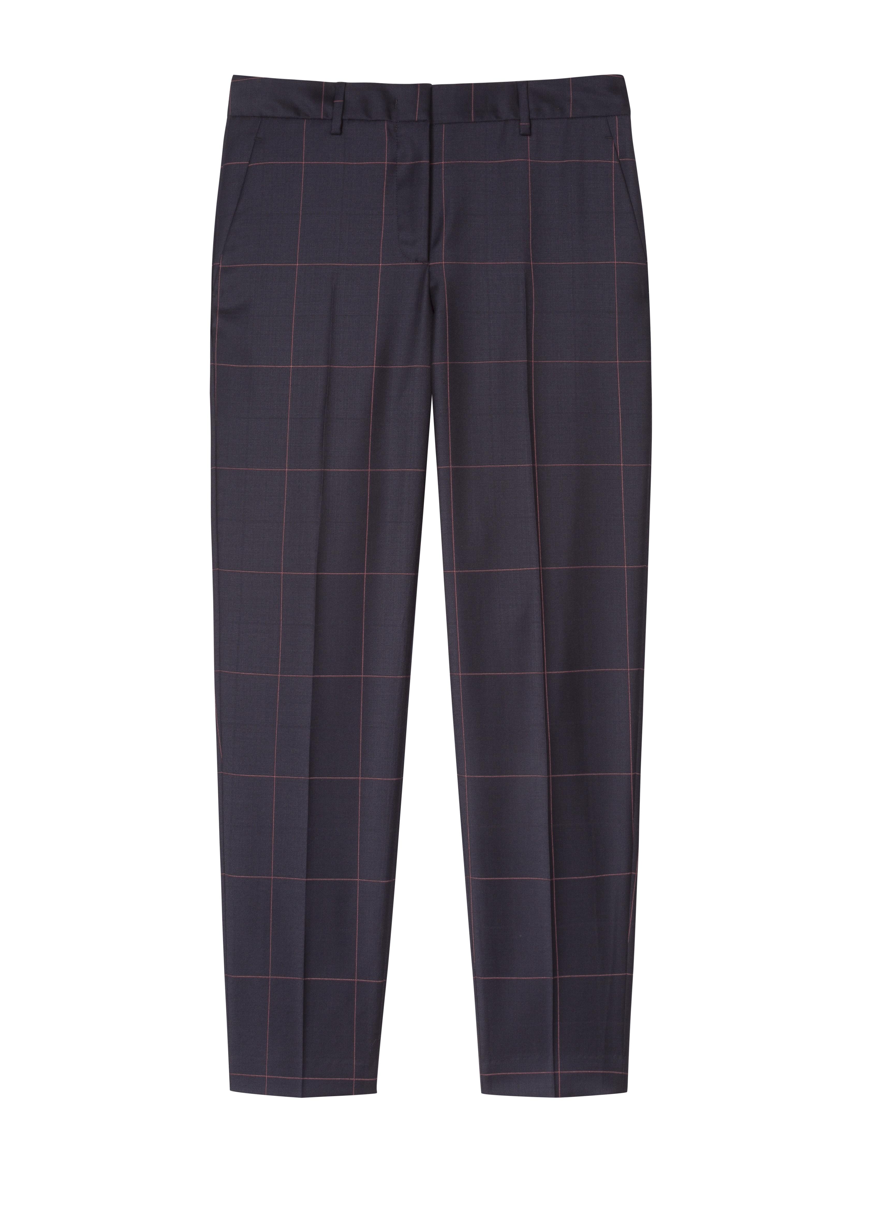 Paul Smith navy wool trousers pink windowpane check.jpg